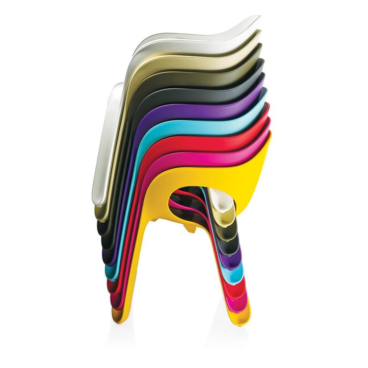 colorful Easy Chair by Jerszy Seymour for Magis