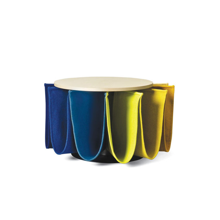 Carousel table by Pauline Deltour for Kvadrat