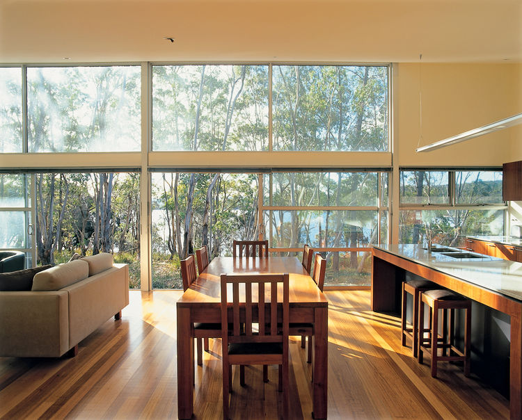 Roughing it? Hardly. The Taits had to make only minimal compromises to obtain their sustainable dream home.