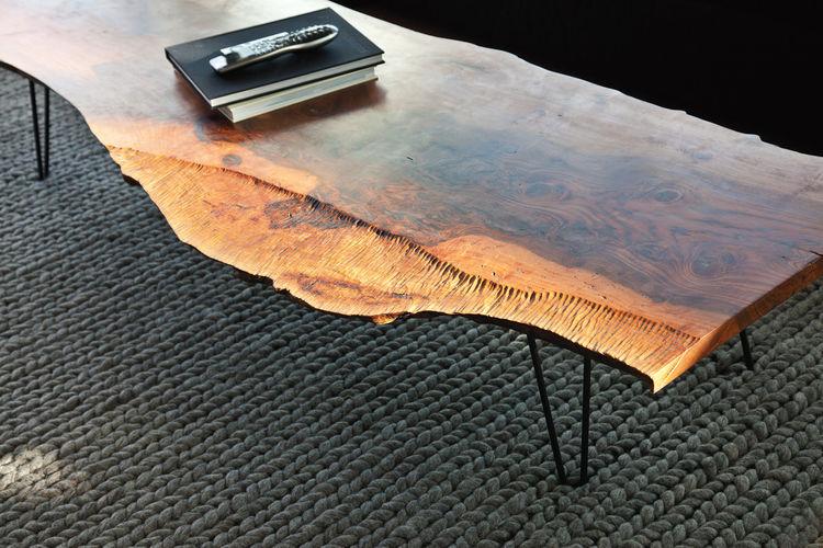 Samuel Moyer walnut coffee table
