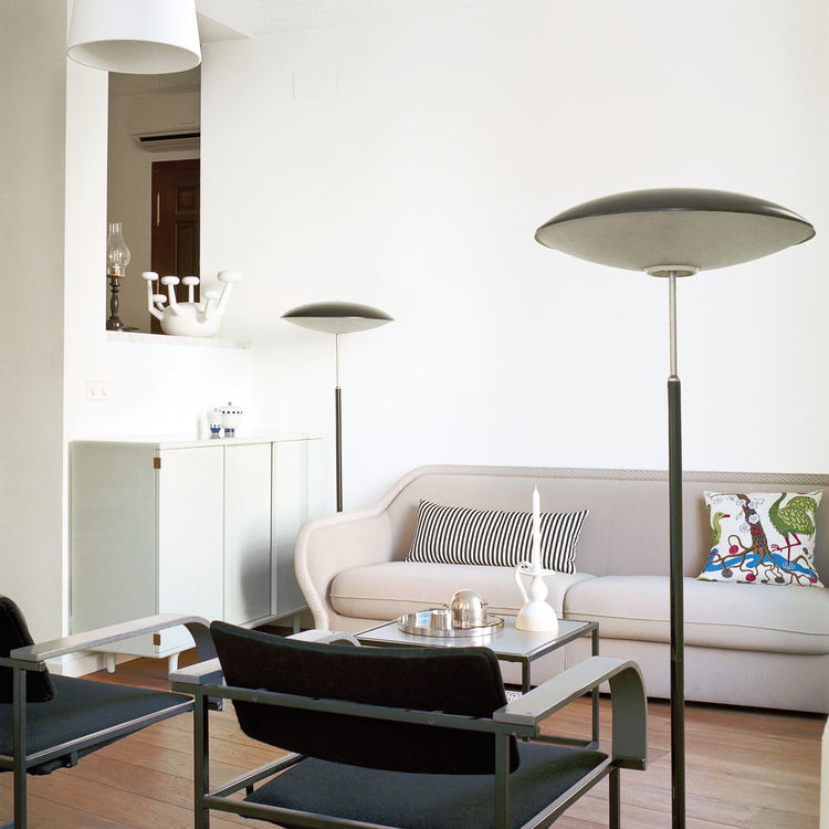 Creative living room Bardot sofa Bernhardt Design