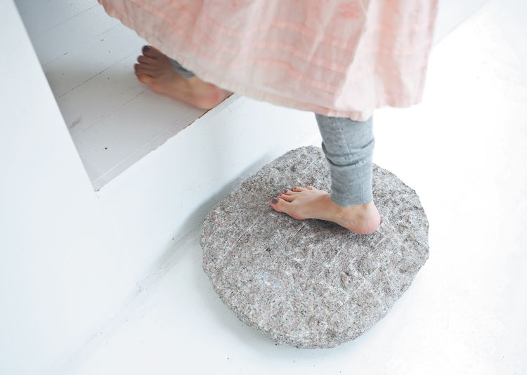 Zen stepping stones for the home