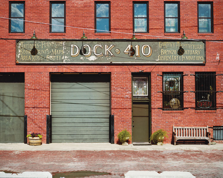 Exterior view of the photography-focused Gallery at Dock 410 in downtown Wichita