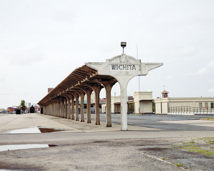 Union Station on Douglas Ave in downtown Wichita