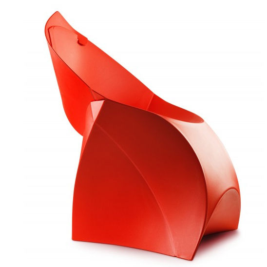 Origami Foldable Flux Chair by Jan-Willem Poels