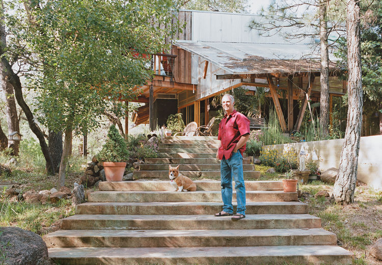 "Architect and builder Ken Meffan lives in Rough and Ready, California, a tiny town in the foothills of the Sierra Nevada mountains. ""Rough and ready"" also describes his take on domestic bliss: Meffan, 56, is known for his rugged, modern houses in the High"
