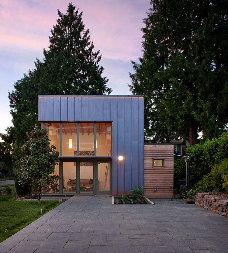 zimmerman residence exterior