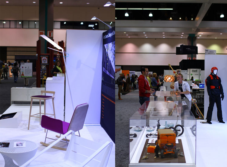 College Booth at Dwell on Design 2012