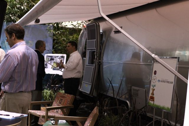 Airstream Trailer at Dwell on Design 2012