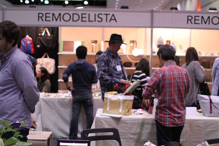 Remodelista booth at Dwell on Design 2012