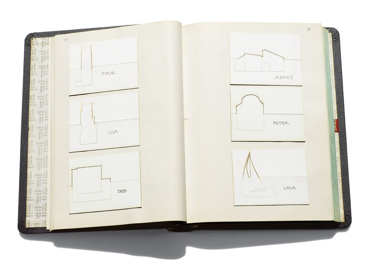 Memory book of architect Deborah Berke