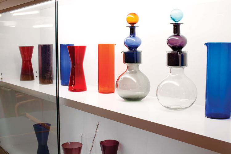 vintage glass pieces by Kaj Franck at Artek 2nd Cycle