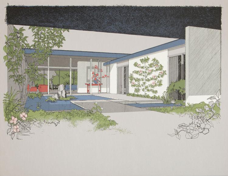 Monarch Bay Homes rendering by Carlos Diniz