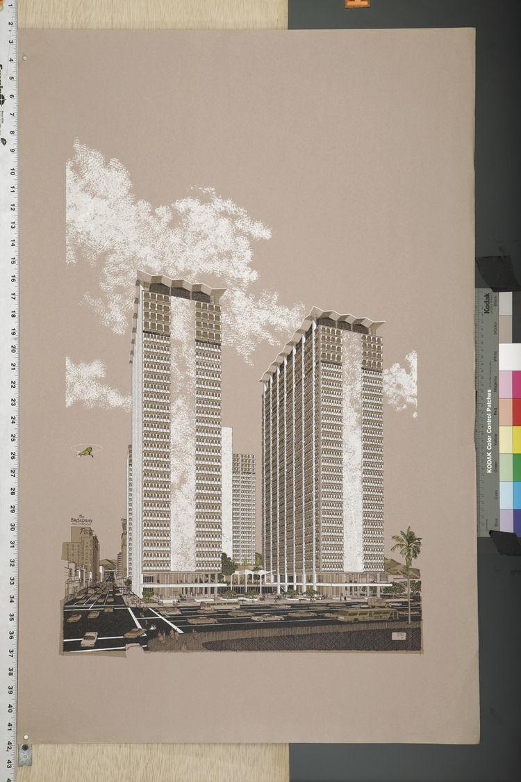 Hollywood Suites rendering by Carlos Diniz