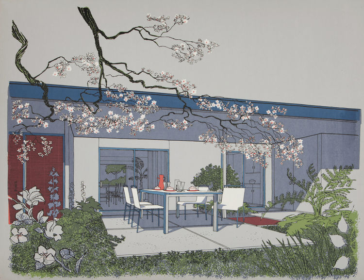 Exterior Monarch Bay Homes rendering by Carlos Diniz