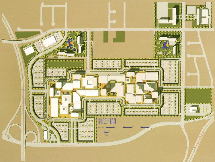 Orange County California site plan rendering by Carlos Diniz