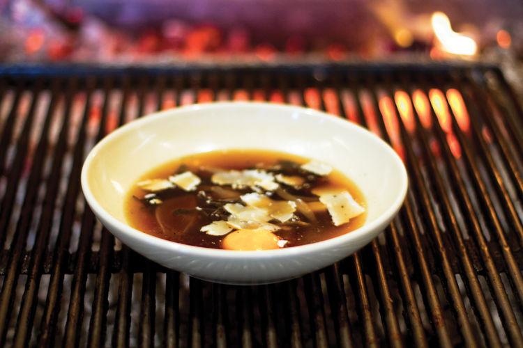 Michael Tusk Cotogna soup