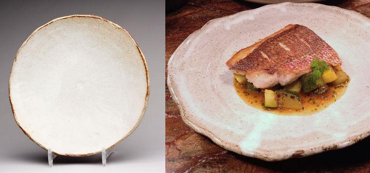 Custom 10-inch Circular Dinner Plate at Husk