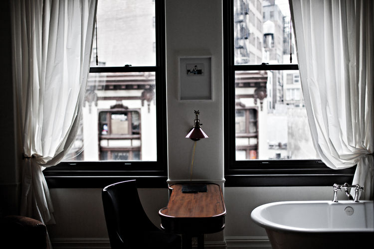 NoMad Hotel Guest Room Open Bathroom