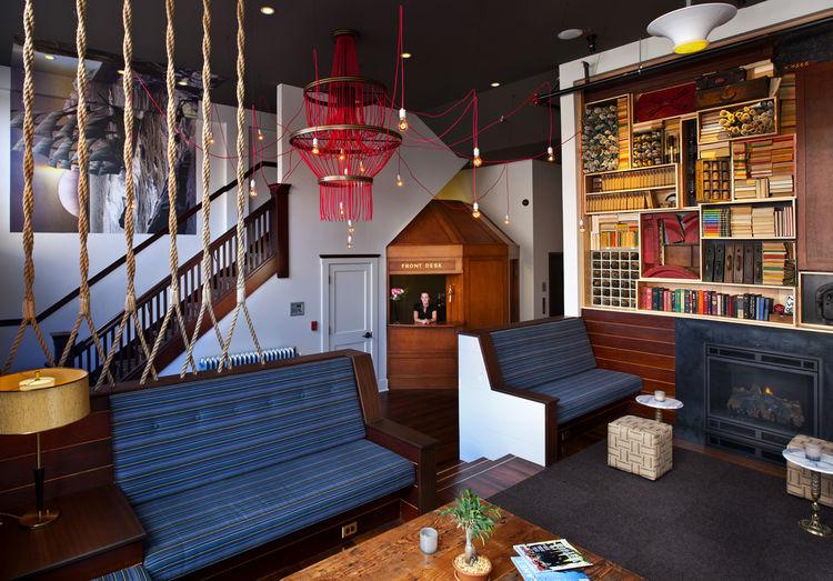 The Commodore Hotel Lobby