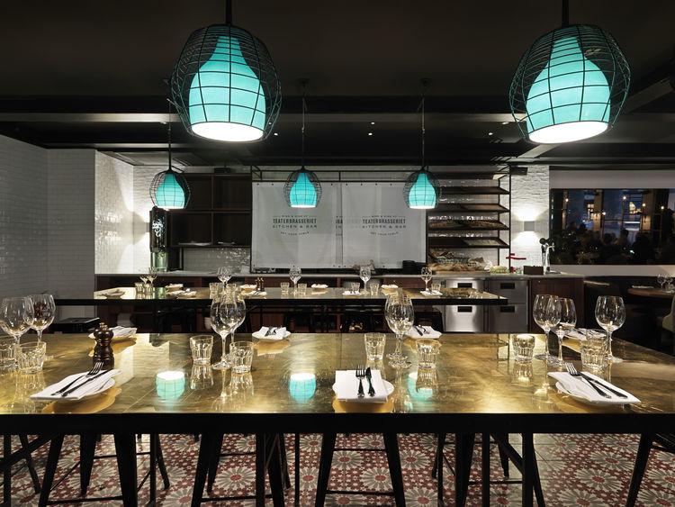 Scandic Grand Central Buffet Restaurant in Stockholm