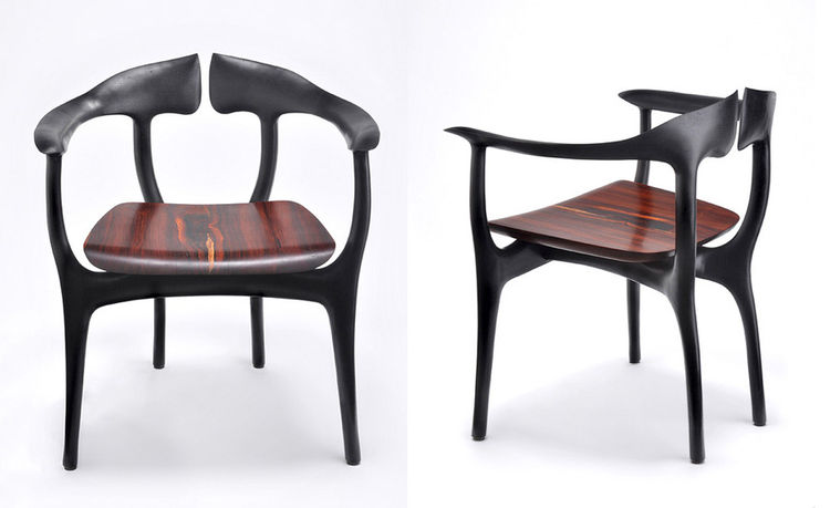 Swallowtail chair by Brian Fireman
