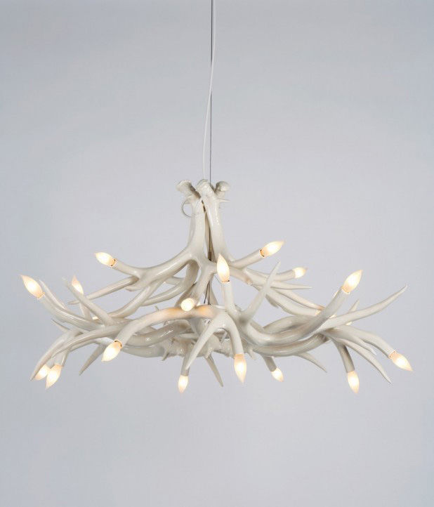Antler Chandelier by Jason Miller for Roll & Hill
