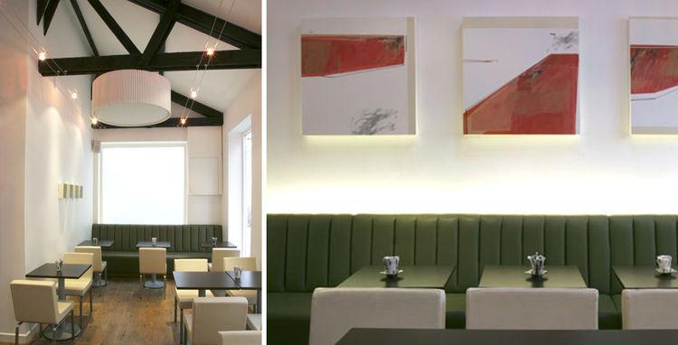 Indaba Restaurant furnished by Kathryn Tyler