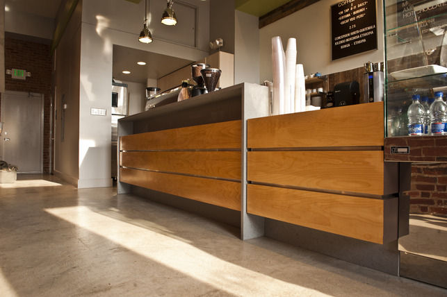 Peregrine Espresso Interior submitted by Scott Herbert of Aesthetic Answers LLC