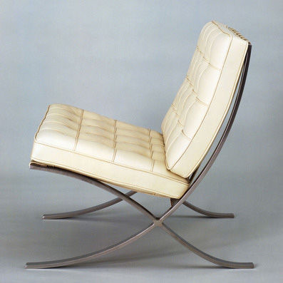 Barcelona chair by Ludwig Mies van der Rohe