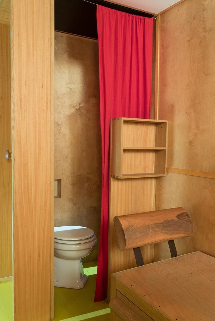 Small Toilet Le Corbusier Cabanon 1952 at Art Basel