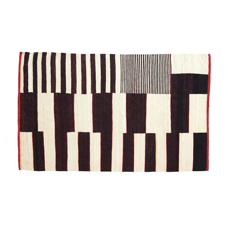 Kilim-style wool rug from Nani Marquina