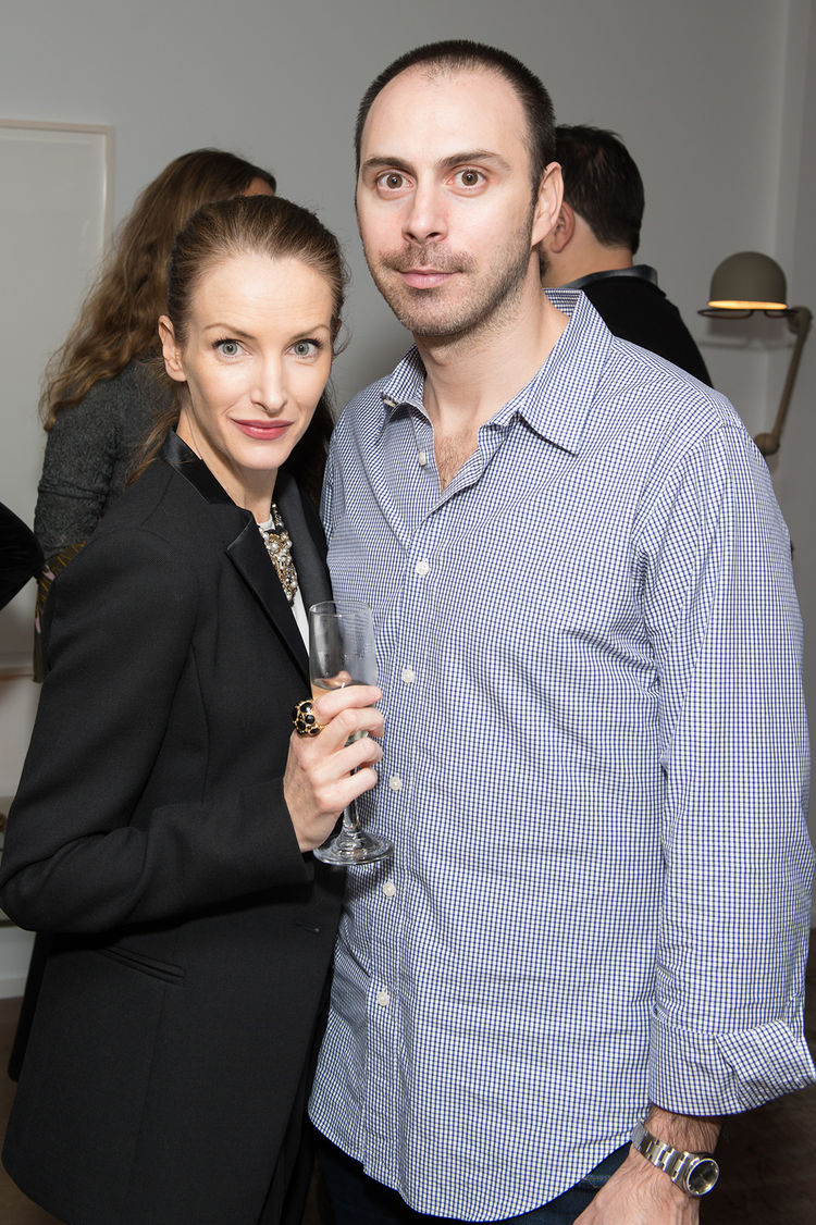 Dwell and DDG event at 345 Meatpacking Kate and Daniel Wadia