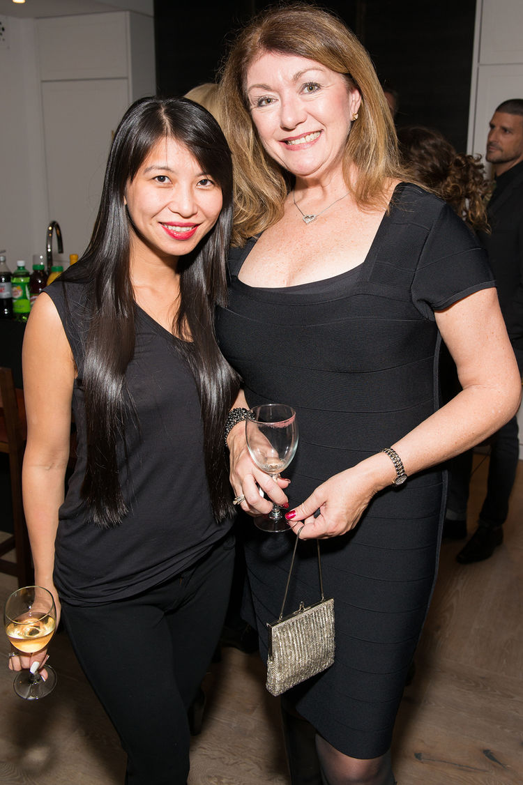 Shauna Mei and Michela O'Connor Abrams at Dwell and DDG event