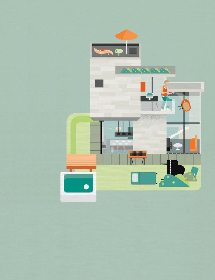 Building illustration by Arunas Kacinskas