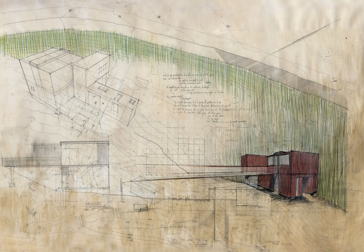Concept drawing of the home.
