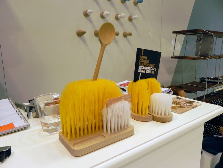 Wooden bristle brush by ENO