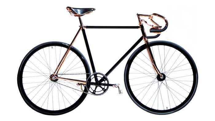 Bespoke bicycle by Detroit Bicycle Company