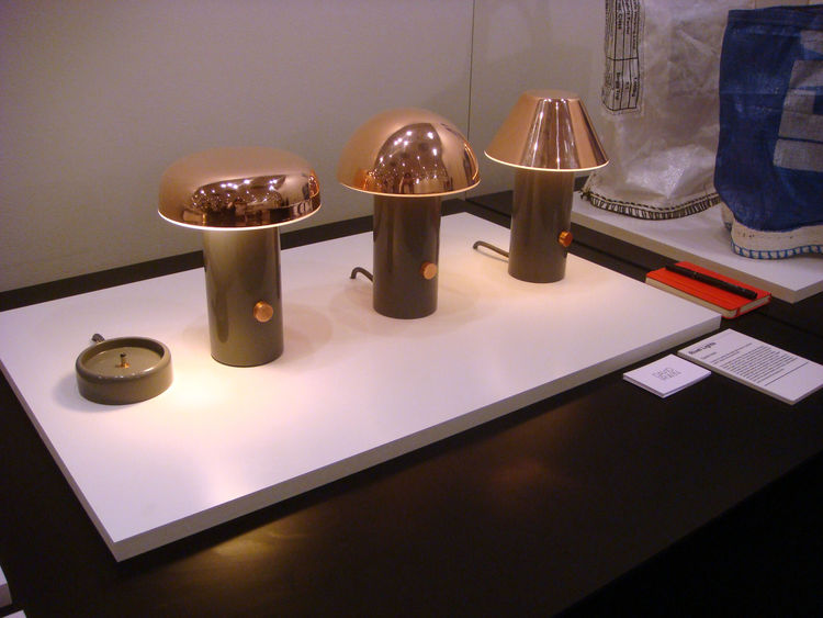Rivet series of lamps by David Irwin Best Accessories ICFF 2012