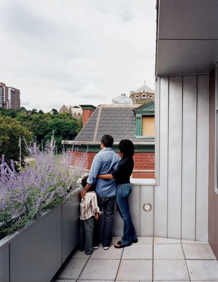 Top-floor terrace