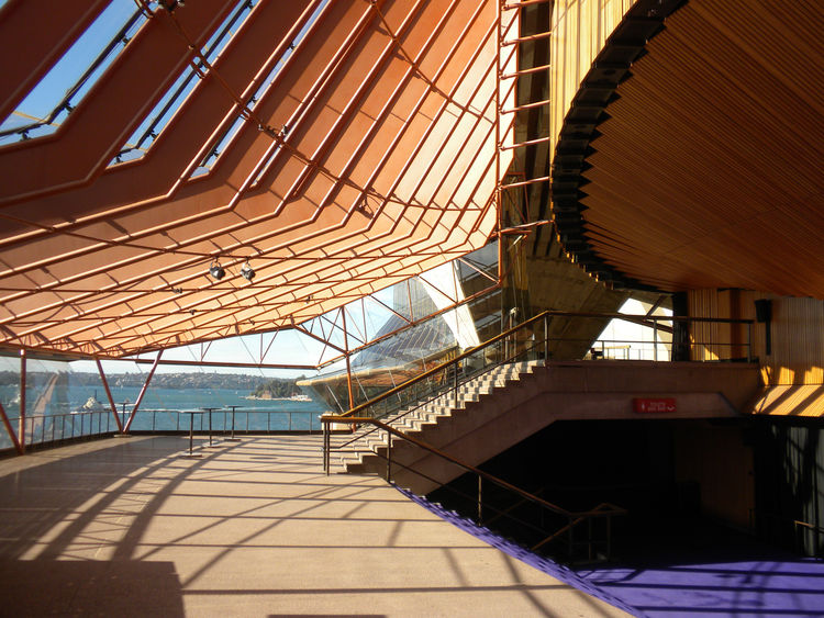 Interior of Sydney Opera House