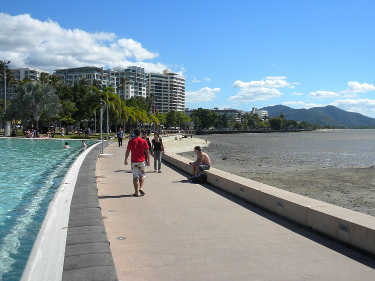 Cairns waterfront Australia