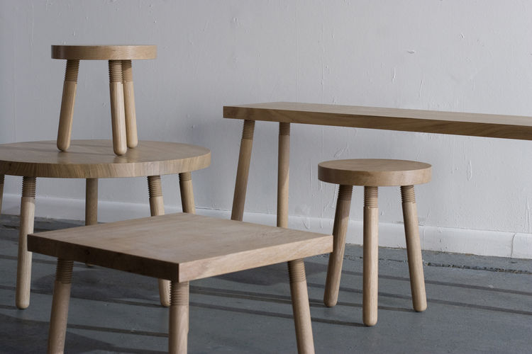 Wood furniture by Atelier Takagi