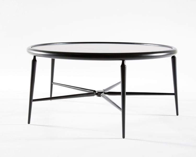 Black table by Atelier Takagi