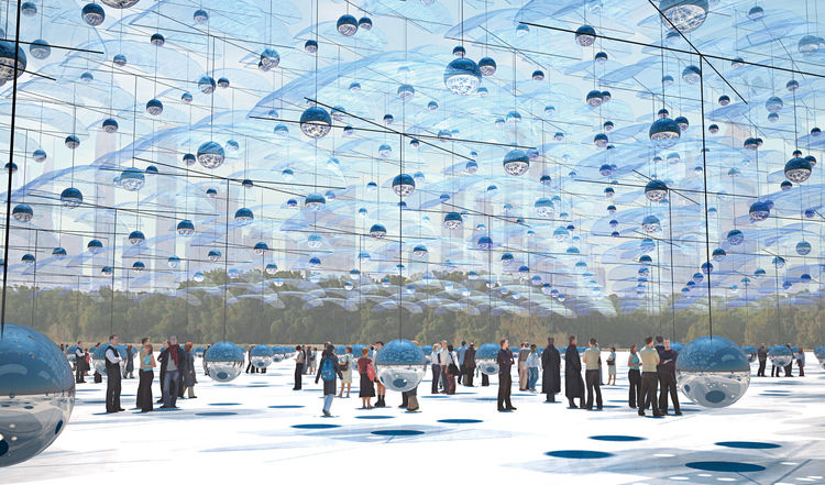 Choreographies in the Sky by Carlos Campos Yamila Zynda Aiub Architects