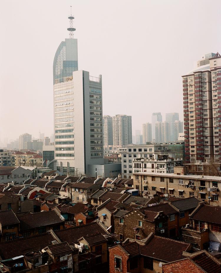 Puzi District Skyscraper Shanghai China