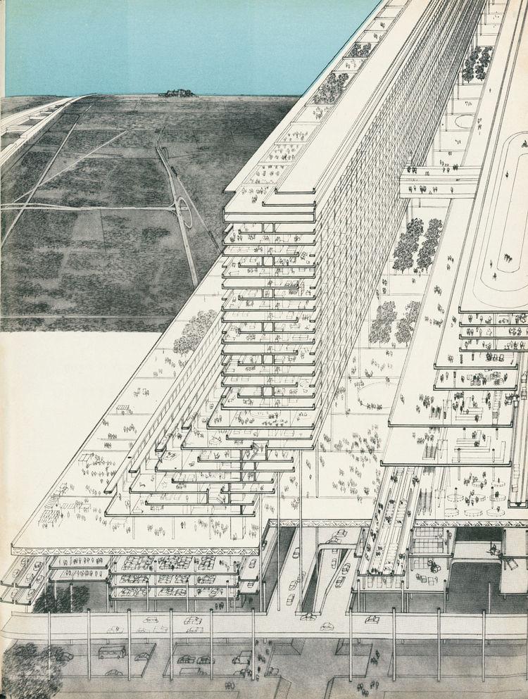 Urban planning illustration