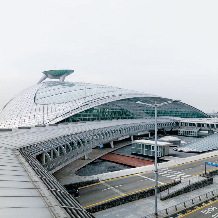 Incheon International Airport in Seoul Korea
