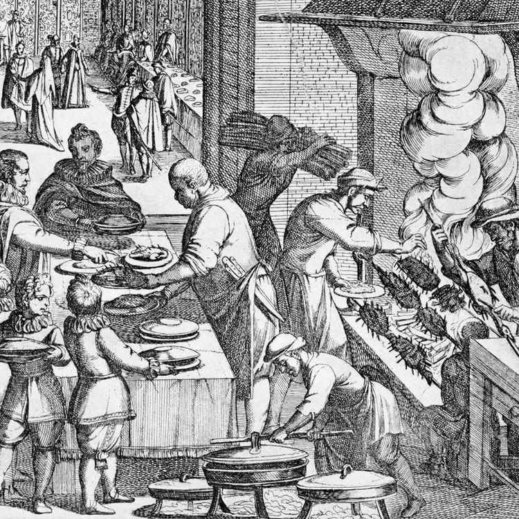 17th Century Kitchen Domestic Scene