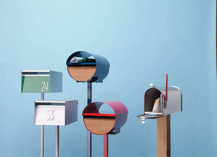 Modern mailboxes